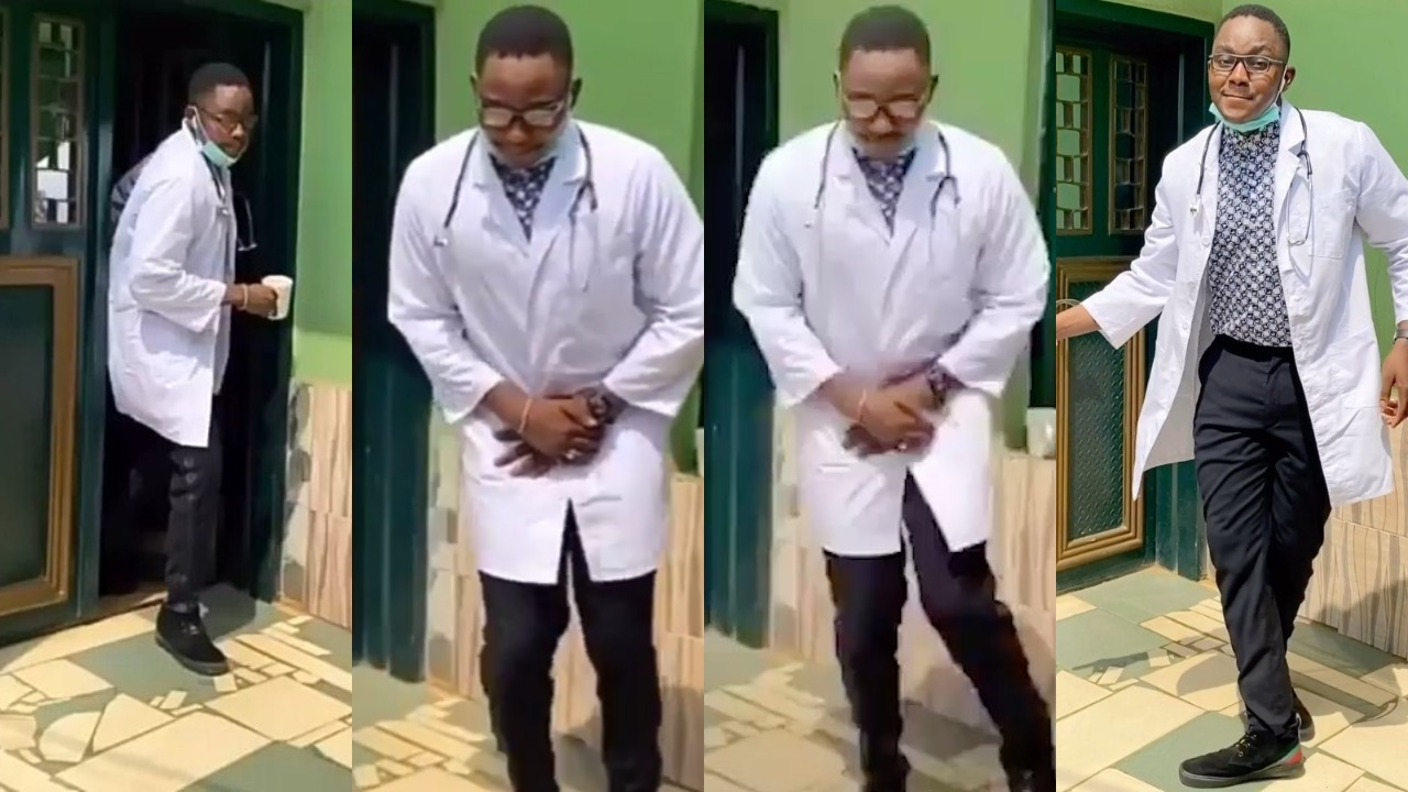 "Nigerian Doctor Shows Off His Incredible ""Legwork"" Dancing Skills"
