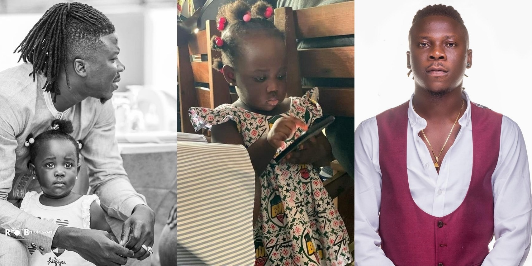 Stonebwoy's daughter joins 'putuu' craze Challenge