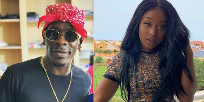 Watch: Shatta Wale Dashes His Bestie Efia Odo $40,000 As Birthday Gift