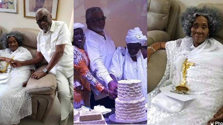 Jerry John Rawlings' mother dies aged 101