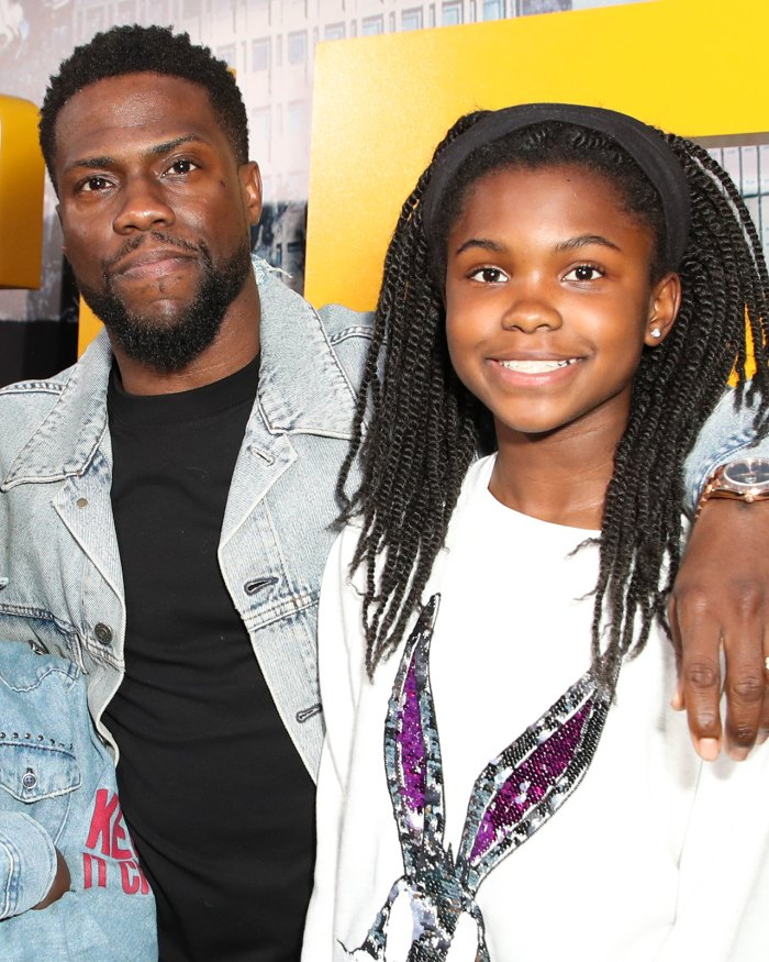 Kevin Harts Gifts His Daughter A Brand New Mercedes Benz For Her Birthday
