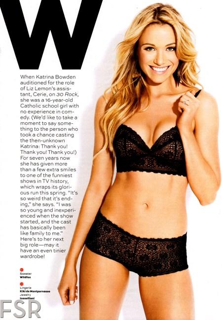 KATRINA BOWDEN in Maxim Magazine, January/February 2013 Issue