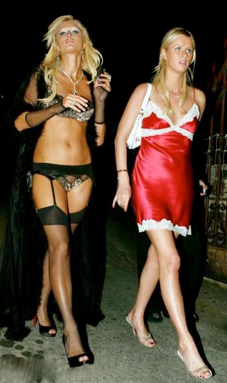 Halloween Flashback One Year Ago Paris Hilton Drunk