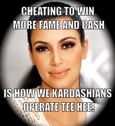 Kim Kardashian Lies To Her Twitter Followers To Promote