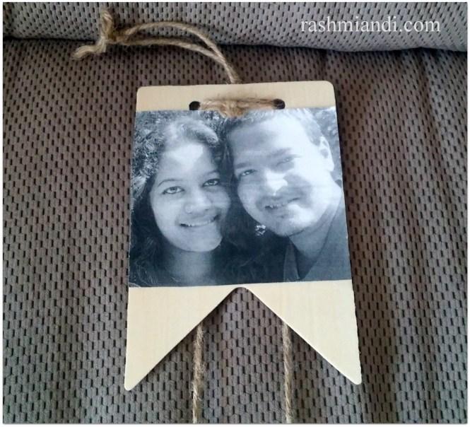 DIY hanging Picture Wooden Frame