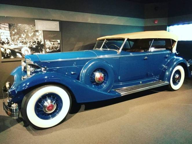 A truly incredible collection of beatuies including this 1933 Packard on display at the Revs Institute, a must visit for automobile aficionados. #naples #naplesflorida #visitflorida #visitnaples #revs #automobile #cars #vintage #heritage #museum #picoftheday #photooftheday #instalike #instapic #igers #travelblogger #travelblog #vintagecar