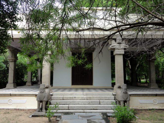 Zorastrian temple