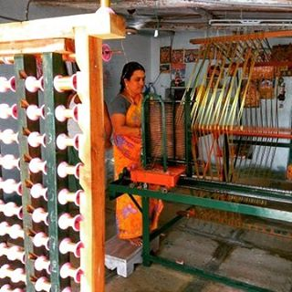The incredible weavers of Pochampally a village just 50 kmhellip