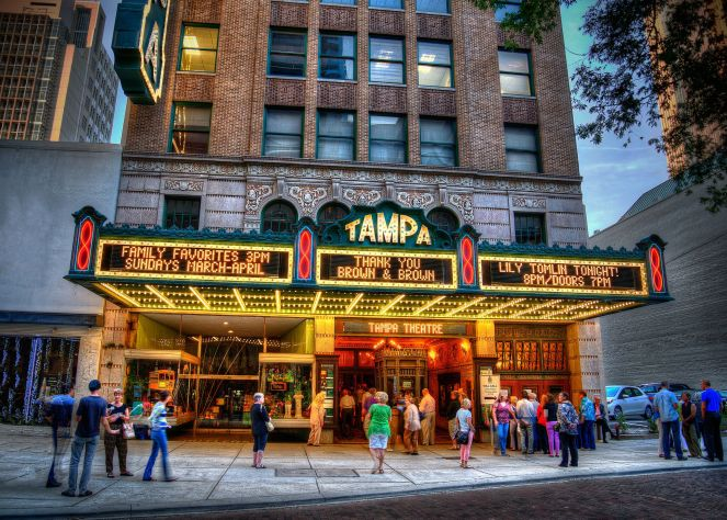 Tampa theatre exterior | Courtesy of Tampa Theatre