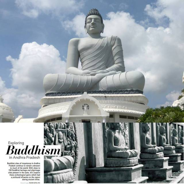 Going on a Buddhist trail in Andhra Pradesh was quitehellip