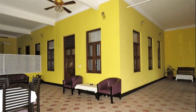 Balcony at Maharaj suite