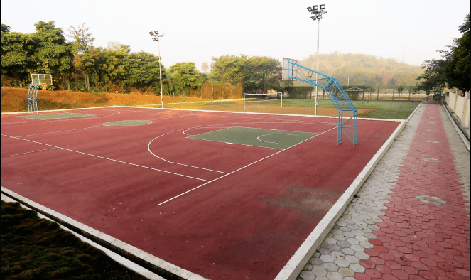 A view of the basketball court at Novotel Airport Hyderabad