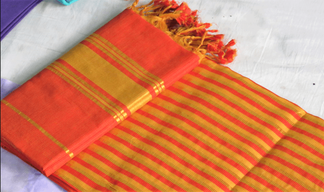 A typical Mangalagiri saree