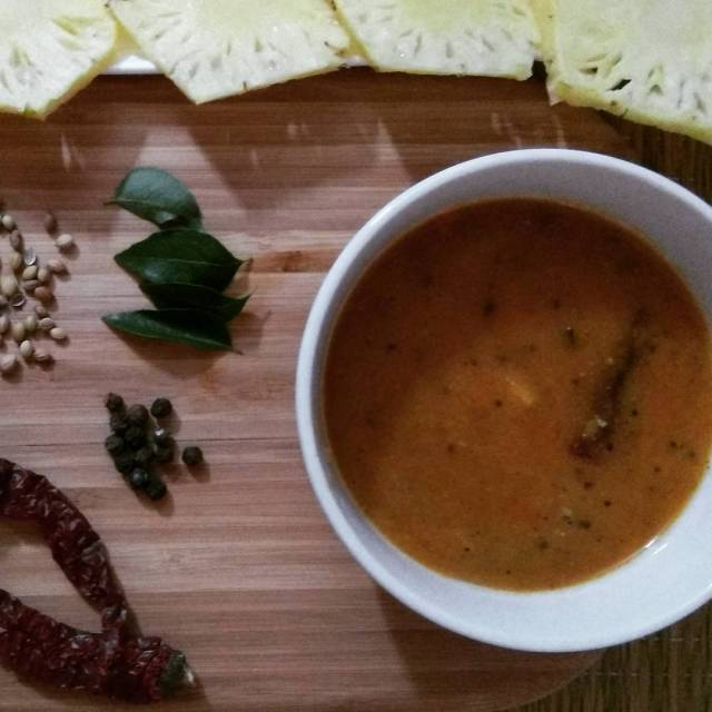 An interesting twist to the daily rasam by the additionhellip