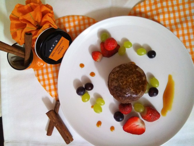 Oats and Finger Millet pancakes using Sprig Real Cinnamon Imbued Honey