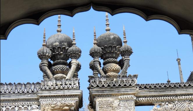 Intricate Minarets in Paigah
