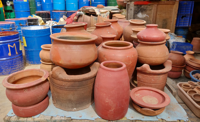 A glimpse of Pottery town products