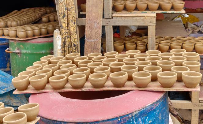 Pottery town, Bangalore