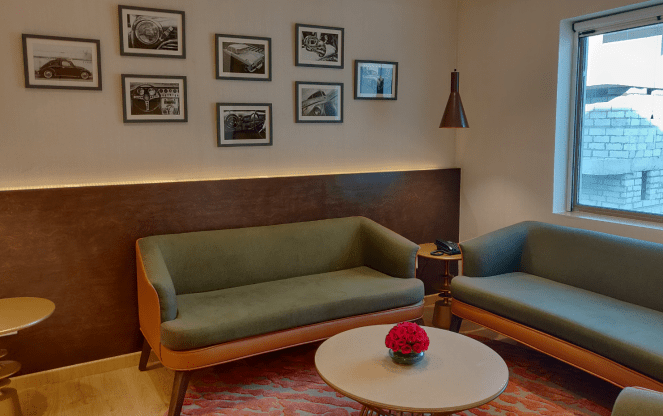 Lounge area in Ibis Jaipur Civil lines