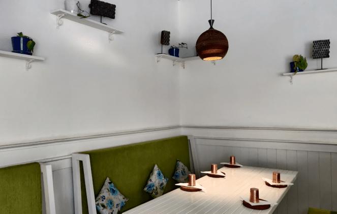 Seating at Sante Spa Cuisine, Indiranagar