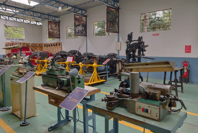 Display at the HMT Heritage Centre and Museum
