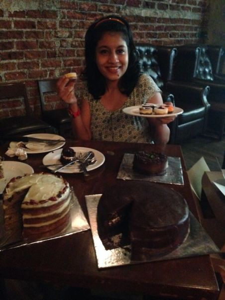 Shruti of Cheesecake Republic