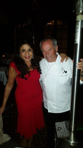 It's always inspirational to meet @chefwolfgangpuck #america s high priest of cuisine @spagorest