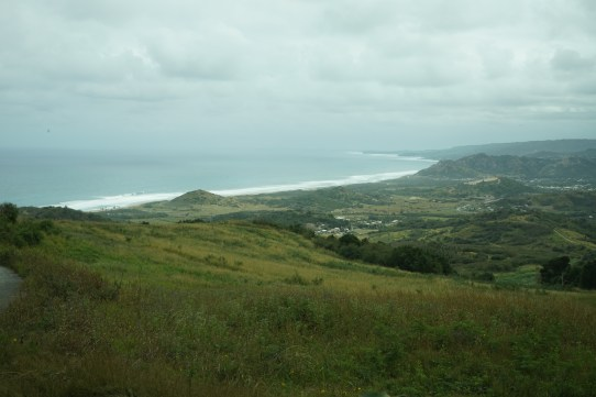 View of the east coast from Cherry Tree Hill