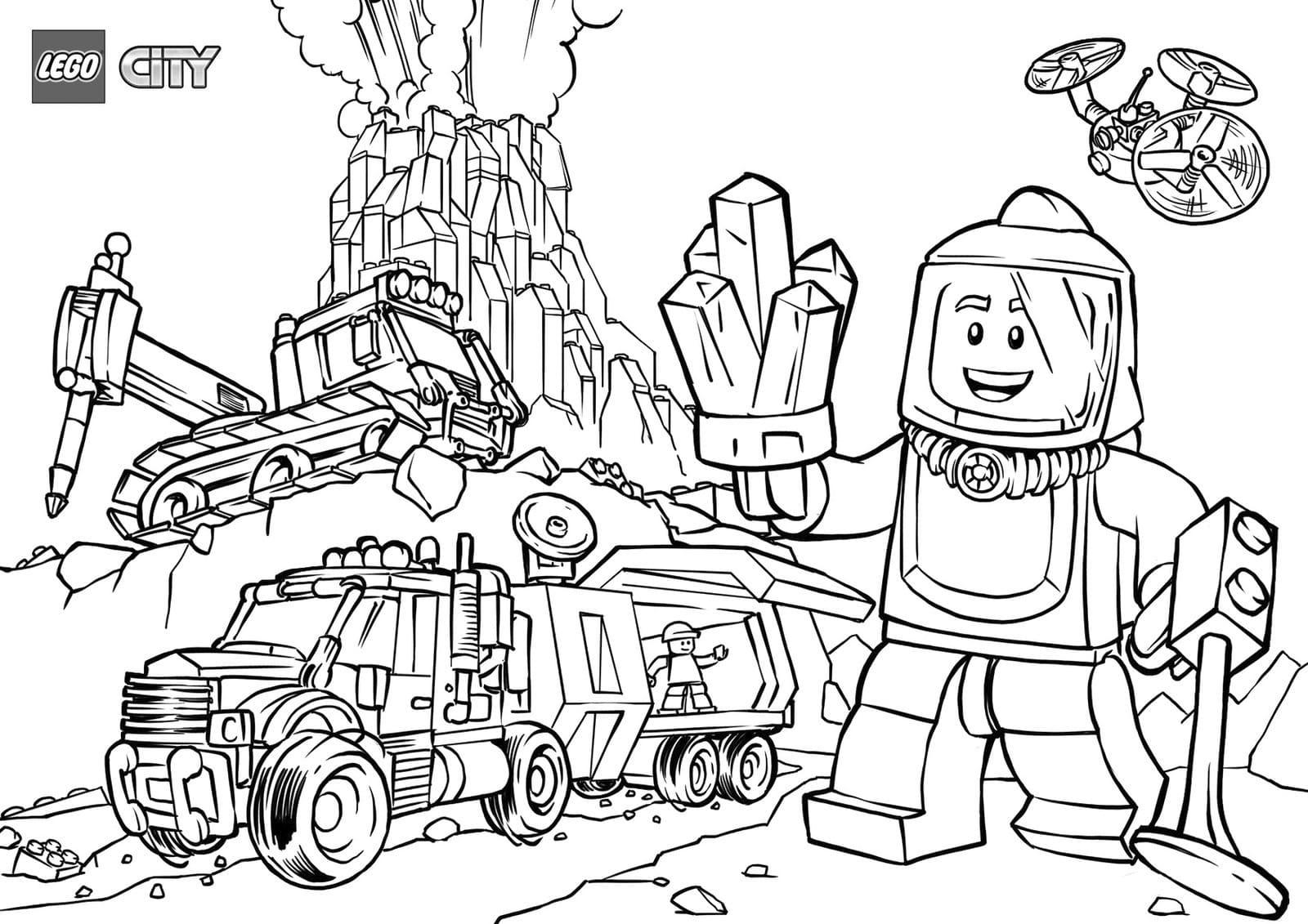 Disegni Di Lego Da Colorare Scarica O Stampa Gratuitamente