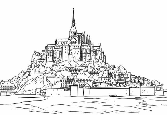 Coloriage Château - 28 images à imprimer gratuitement