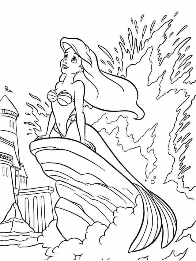 Ausmalbilder Disney. 19 Bilder zum kostenlosen Drucken