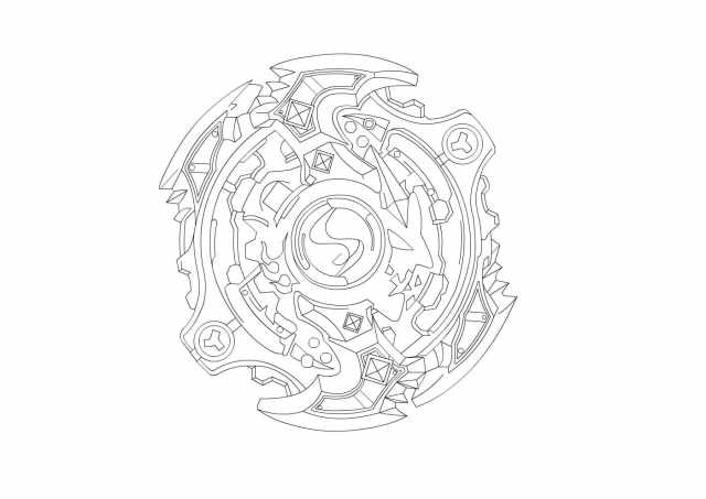 Beyblade Coloring Pages - 16 Images Free Printable