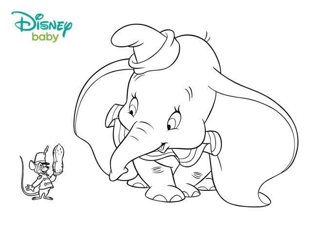 Coloriage Dumbo - 9 images à imprimer gratuitement