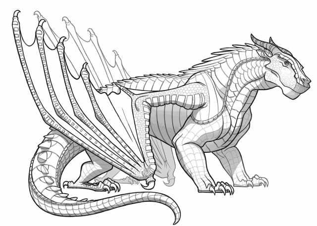 Wings of Fire Coloring Pages  26 Pictures Free Printable