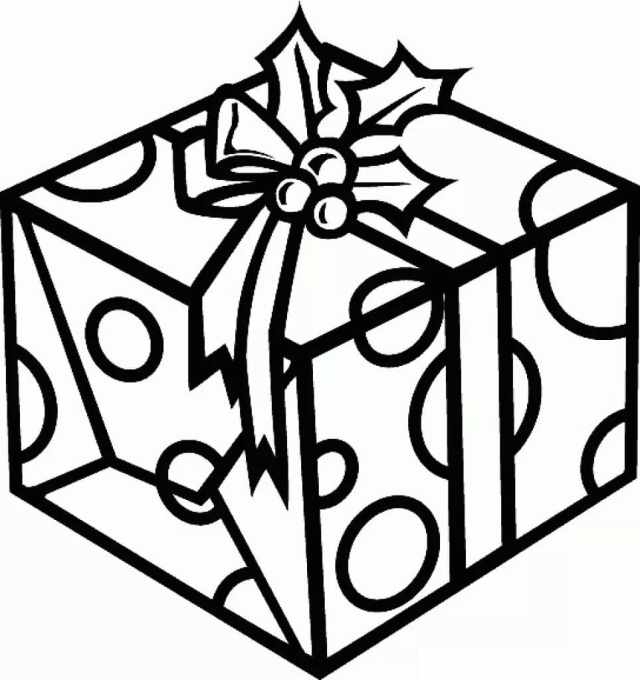 Christmas Gifts Coloring Pages  11 images Free Printable