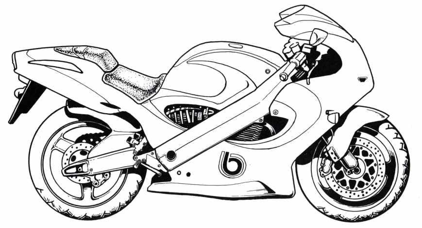 motorrad ausmalbilder. besten malvorlagen zum drucken
