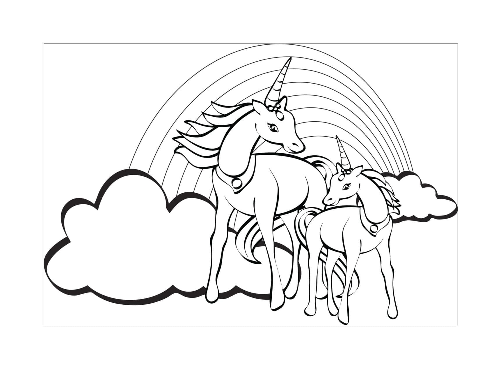 Imagenes De Unicornios Para Colorear Grandes On Log Wall