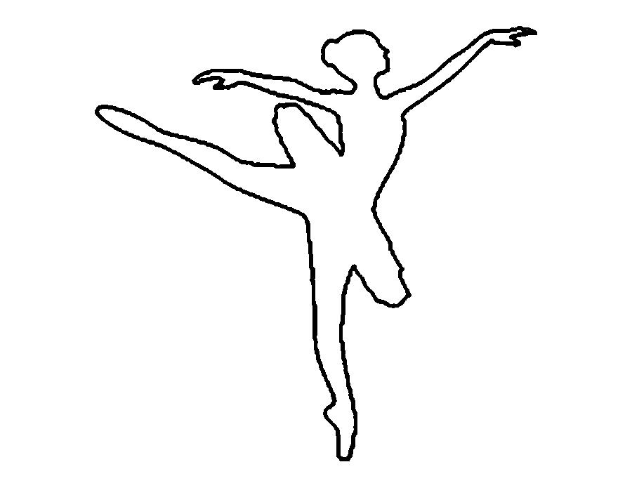 coloring pages templates ballerinas download for free