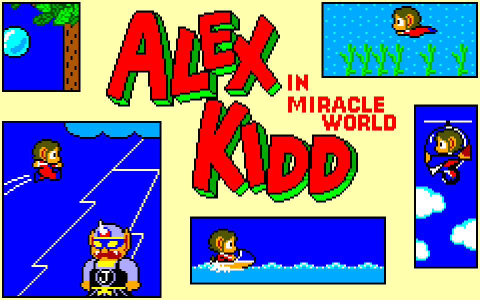 Alex Kidd Probably Deserved More Attention Than It Got