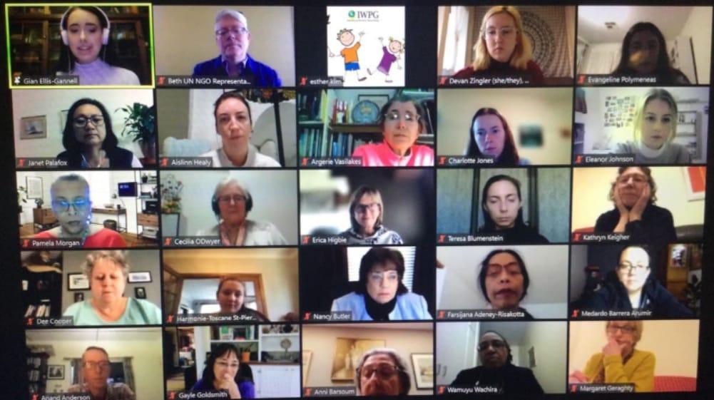 مجموعة نساء السلام العالمية IWPG