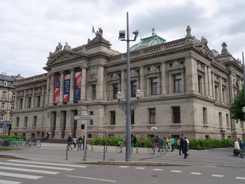 Biblioteca Nacional Strasbourg