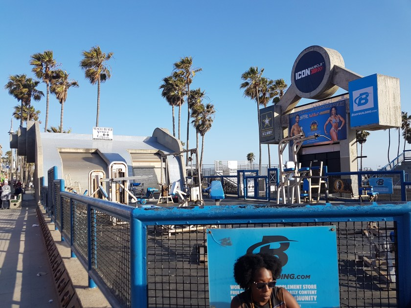 california venice usa muscle beach