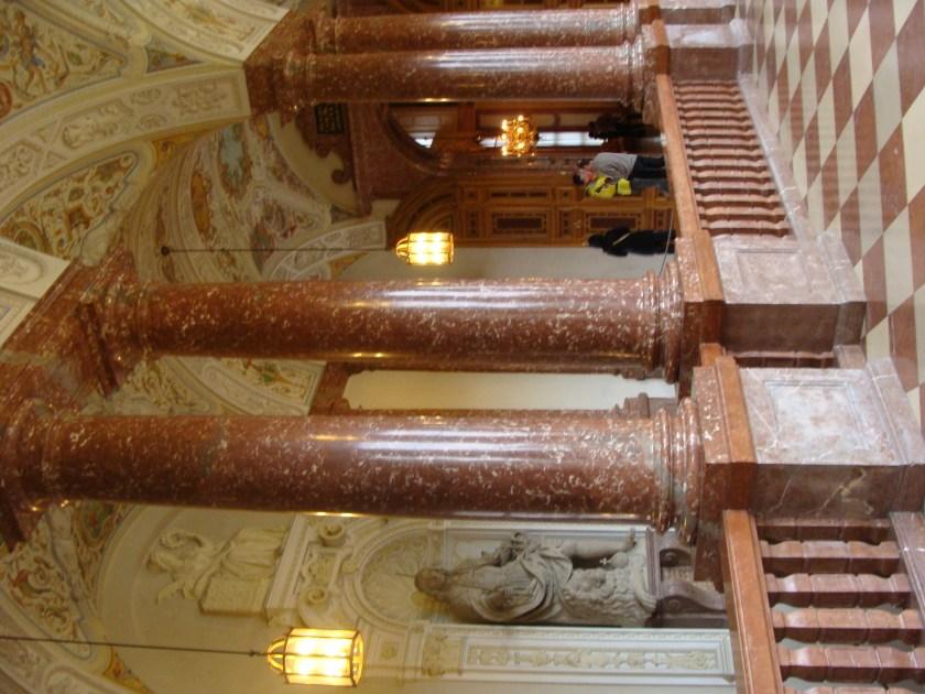 Alemania Munich Residenz Escalera Imperial