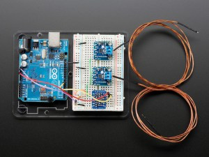Thermocouple Amplifier with 1Wire Breakout Board