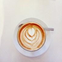 Saturdays at cool cafes.