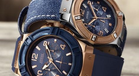 Lanzamiento Colección de Relojes Guess Blue Print