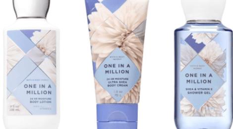 Bath & Body Works crea One In a Million con esencia de flores blancas