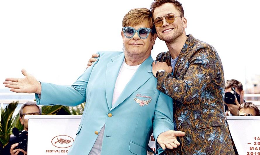 Elton John y Taron Egerton presentaron «Rocketman» en Cannes