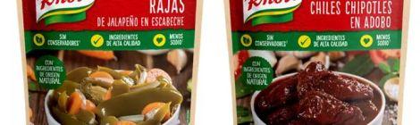 Festeja el mes patrio probando los nuevos chiles Knorr