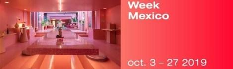 Se anuncia la 11ª edición  de Design Week Mexico del  3 al 27 de octubre 2019